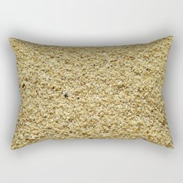 Coarse Grains of Sand Rectangular Pillow