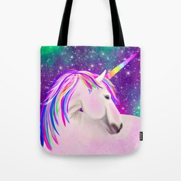 Celestial Unicorn Tote Bag
