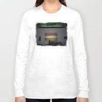 bar Long Sleeve T-shirts featuring Vespa Bar by Rainer Steinke