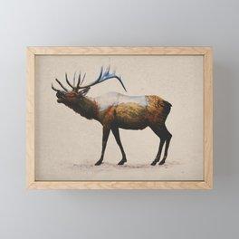 The Rocky Mountain Elk Framed Mini Art Print