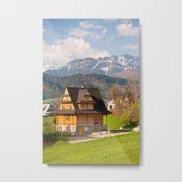 village in Tatra Country Metal Print