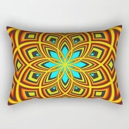 Spiral Rose Pattern D 2/4 Rectangular Pillow