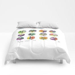 Mystery Stones Comforters