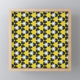 Abstract Fest Pattern 01 Framed Mini Art Print