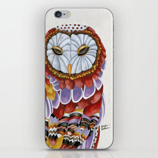 Owl Aura 2 iPhone & iPod Skin