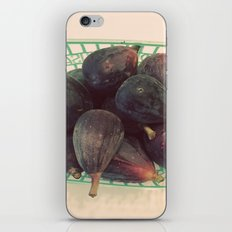 Figs in a Basket Color Photo iPhone & iPod Skin