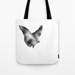 Butterfly Ripple Tote Bag