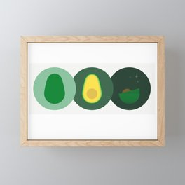 Avocado Time! Framed Mini Art Print