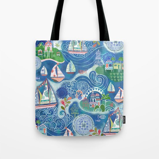 Dream Boats Tote Bag