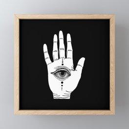 Hamsa Horus Framed Mini Art Print