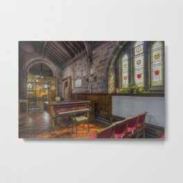 Church Piano Metal Print