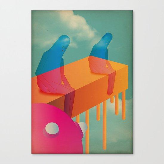 l a s s ù Canvas Print