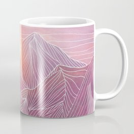 Lines in the mountains 02 Coffee Mug