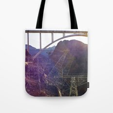 Hoover Dam Electicity Towers Tote Bag