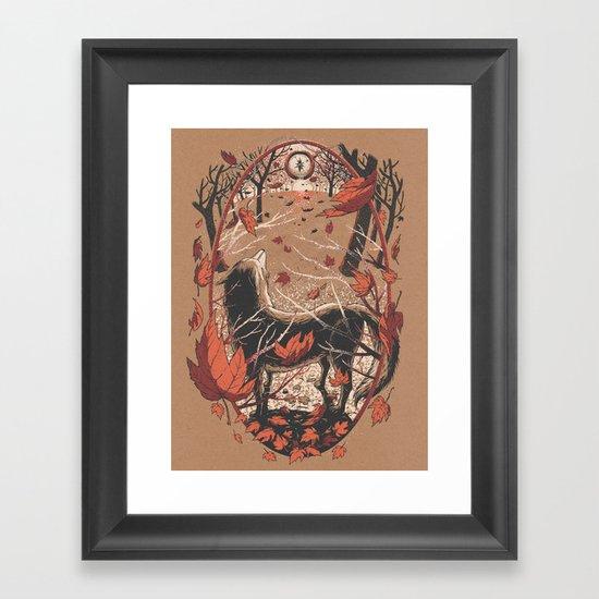 Autumnal Equinox Framed Art Print
