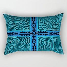 Inca Warrior Arrows Rectangular Pillow