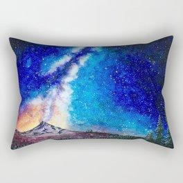 Mount Hood Rectangular Pillow