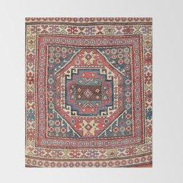 Shahsavan Sumakh Azerbaijan Northwest Persian Bag Print Throw Blanket