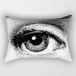 Lina Cavalieri Eye 01 Rectangular Pillow