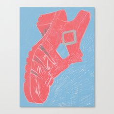 Sandal, 2013. Canvas Print