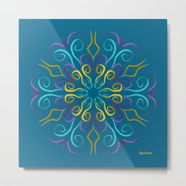 Stronger (Azul) Metal Print