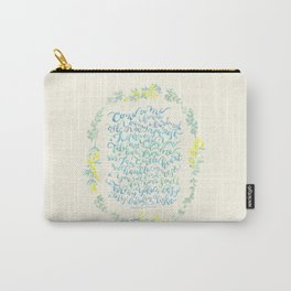 Come to Me - Matthew 11:28-30 Carry-All Pouch