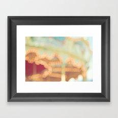 Carousel Dreams Framed Art Print