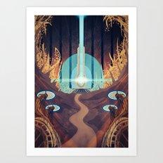 Conduit of Ilos Art Print