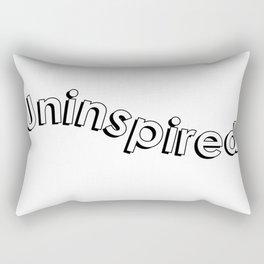 uninspired Rectangular Pillow