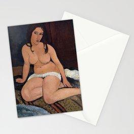 Amedeo Modigliani - Nudo seduto Stationery Cards