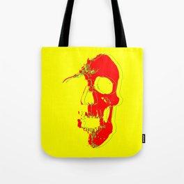 Skull - Red Tote Bag