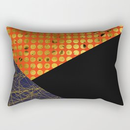 Texture Triangles Rectangular Pillow