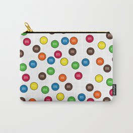 Cute Candy Chocolate Collage Carry-All Pouch
