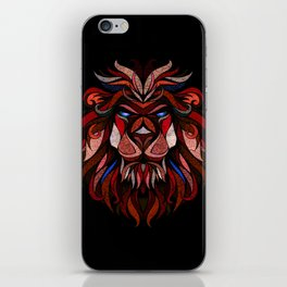 Simple Lion iPhone Skin