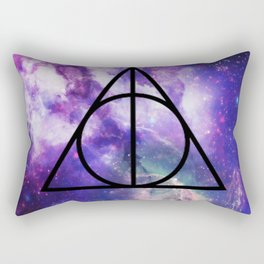 Deathly Hallows Galaxy Rectangular Pillow