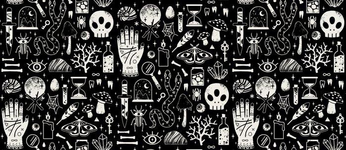 Curiosities: Bone Black Coffee Mug