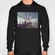 Brooklyn Bridge Photography and Calligraphy Hoody