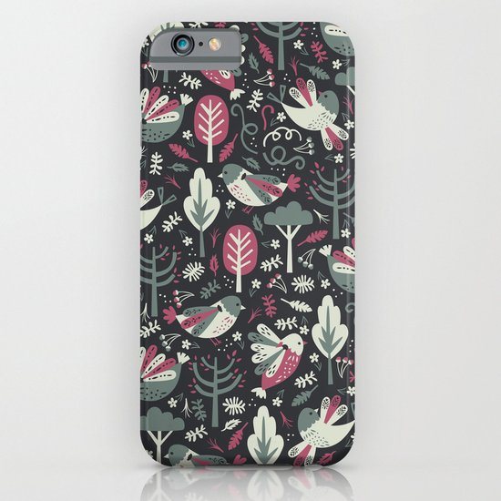 Woodland Birds iPhone & iPod Case