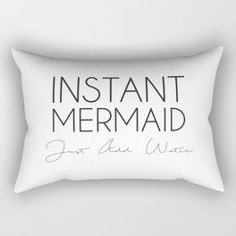 Instant Mermaid Rectangular Pillow