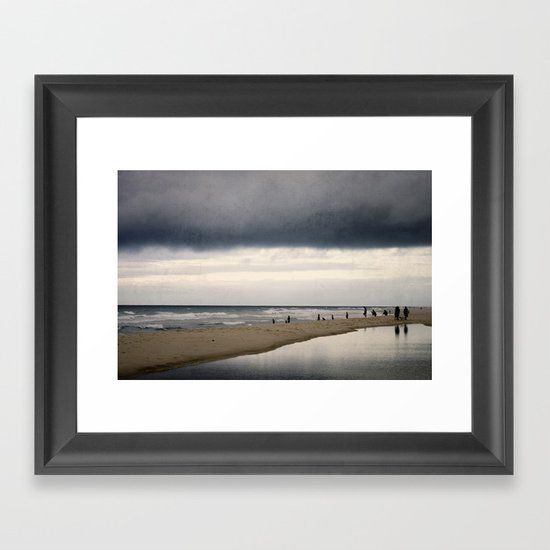 oceanic facination Framed Art Print