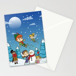 Winter In Never Land Stationery Cards
