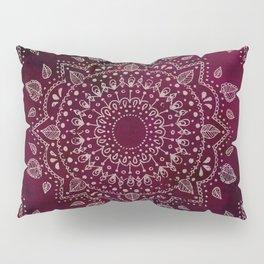 Wine Mandala Pillow Sham