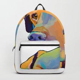Gunner doggie art Tri-blend T-Shirt   Backpack