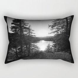 Devils Lake Rectangular Pillow