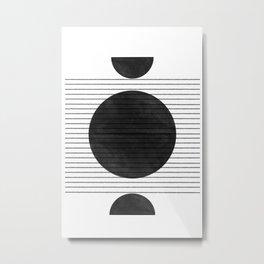 Balance and Space Metal Print