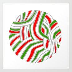 Holiday Ball Art Print