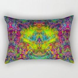 Space Dragon Rectangular Pillow