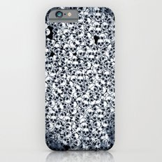 Skull Sketch Pattern Slim Case iPhone 6s