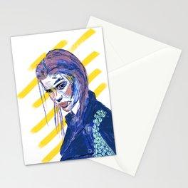 Girl Gang: Go Away Stationery Cards