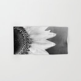 B&W Sunflower Hand & Bath Towel